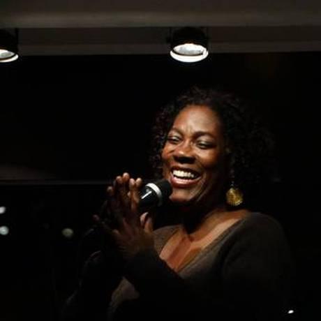 A cantora Leila Maria Foto: Divulgação