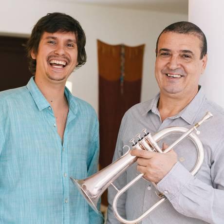 Antonio Guerra e Silvério Pontes Foto: Rogerio Von Kruger / Divulgação