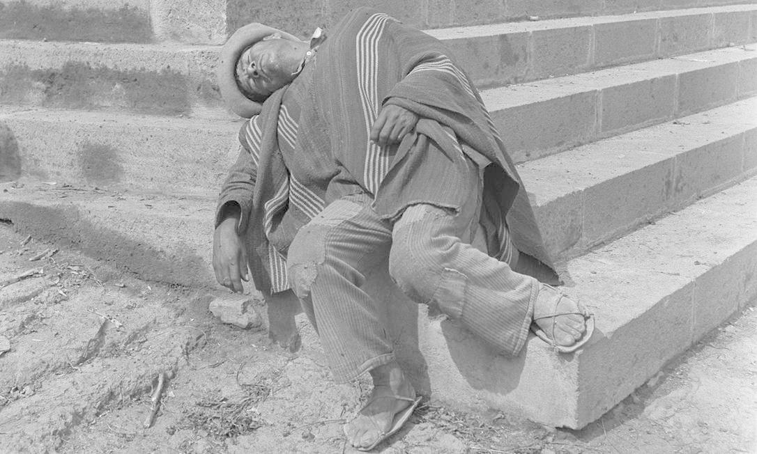 Dorminhocos - Pierre Verger - Peru (1939) Foto: Pierre Verger