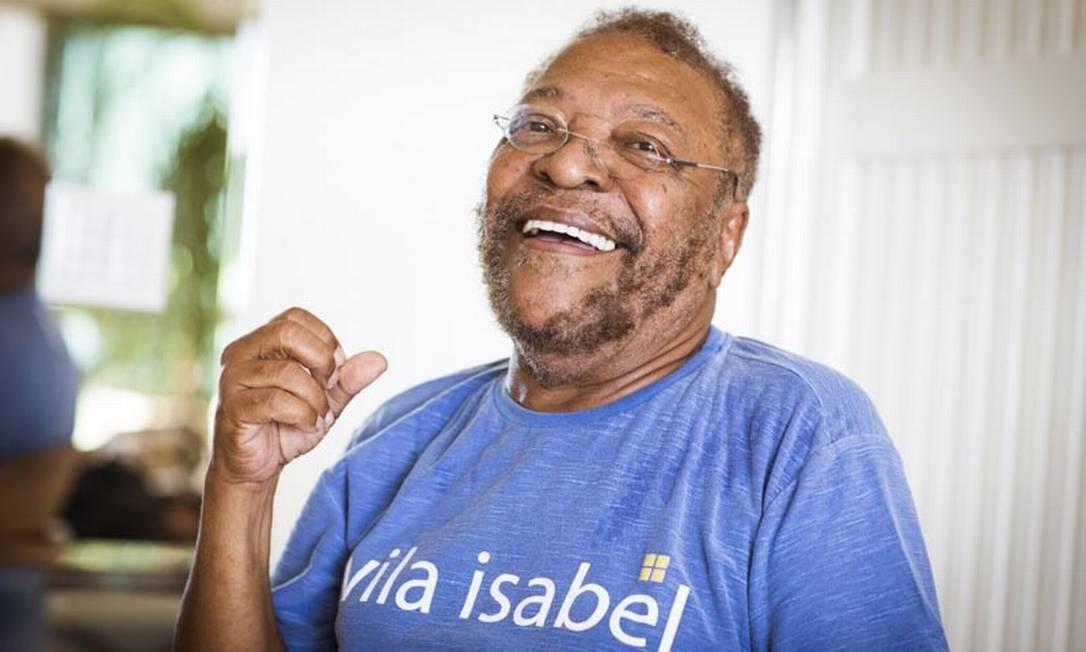 Martinho da Vila lança nessa sexta o disco 'Alô, Vila Isabeeeel' Foto: Barbara Lopes / Agência O Globo