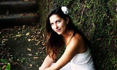 A cantora Elisa Addor Foto: Leo Aversa / Agência O Globo