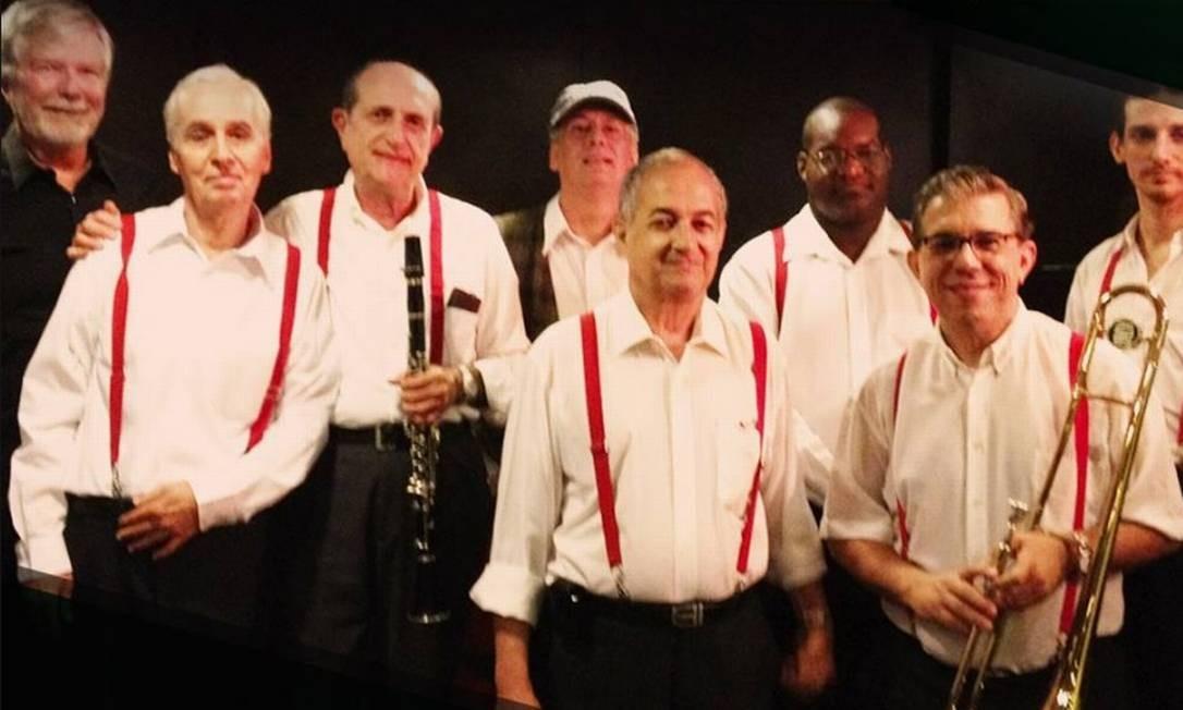 A fanfarra All That Jazz Band presta tributo a Louis Armstrong, no Midrash Centro Cultural (2239-1800). Seg, às 20h30m. R$ 30. Livre. Foto: Reprodução