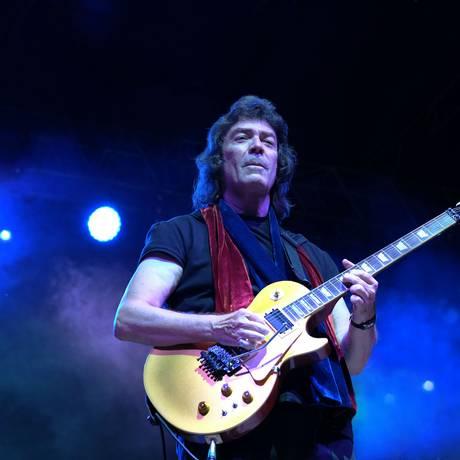 O guitarrista inglês Steve Hackett Foto: Divulgação