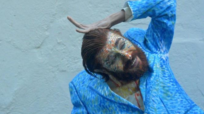 Rafael Mannheimer estrela o monólogo 'O último delírio de Van Gogh' Foto: Duda Simões
