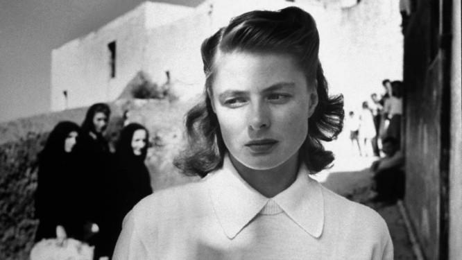 Ingrid Bergman em cena do filme 'Stromboli' Foto: Reprodução