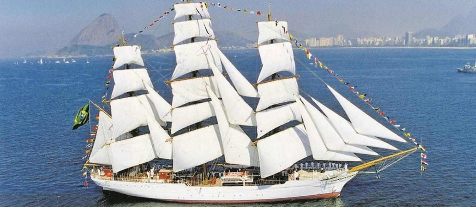 Navio 'Cisne branco' Foto: Divulgação