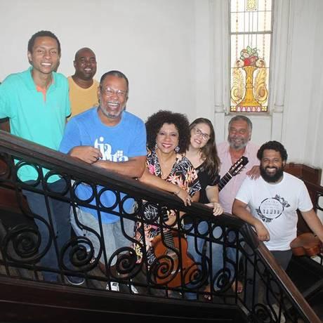 Músicos do Samba do Castelinho Foto: Divulgação