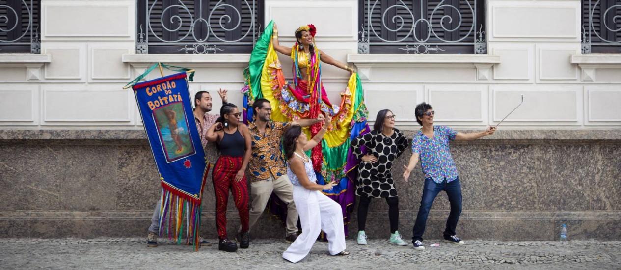 Músicos que participam do festival Toca, de 20 a 23/4 Foto: Leo Martins / Agência O Globo