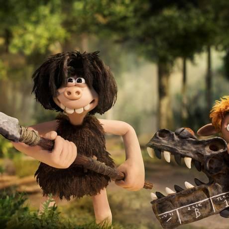 A animaçãp 'O homem das cavernas' está em cartaz no grande circuito Foto: Divulgação