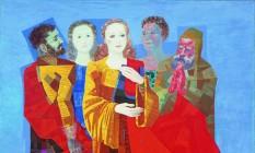 """""""Santa Cecília"""", de 1954, obra de Portinari na exposição que abre a Casa Roberto Marinho Foto: Divulgação/Casa Roberto Marinho / Divulgação"""