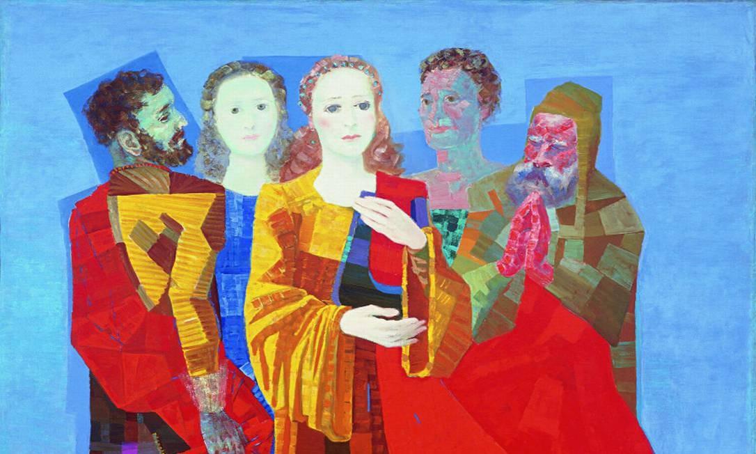"""""""Santa Cecília"""", de 1954, é um das telas de Portinari selecionadas para a exposição Foto: Divulgação/Casa Roberto Marinho / Divulgação"""