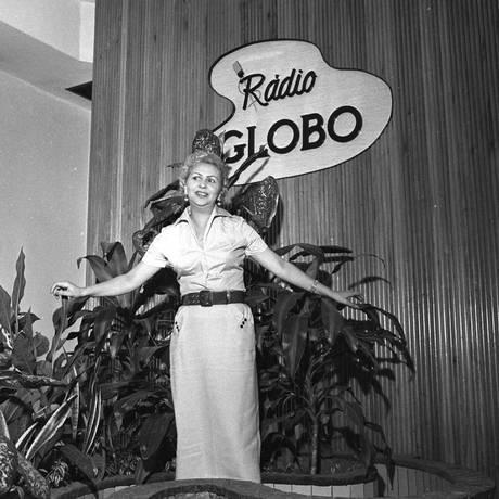 Dalva de Oliveira em foto de 1957 Foto: Agência O Globo