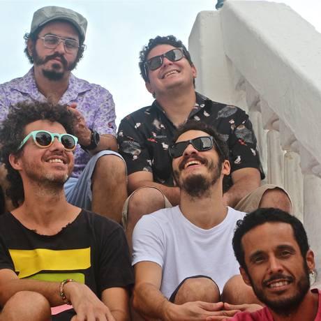 A banda pernambucana Academia da Berlinda Foto: Divulgação