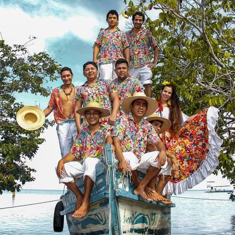 Grupo Kuatá de Carimbó Foto: Divulgação