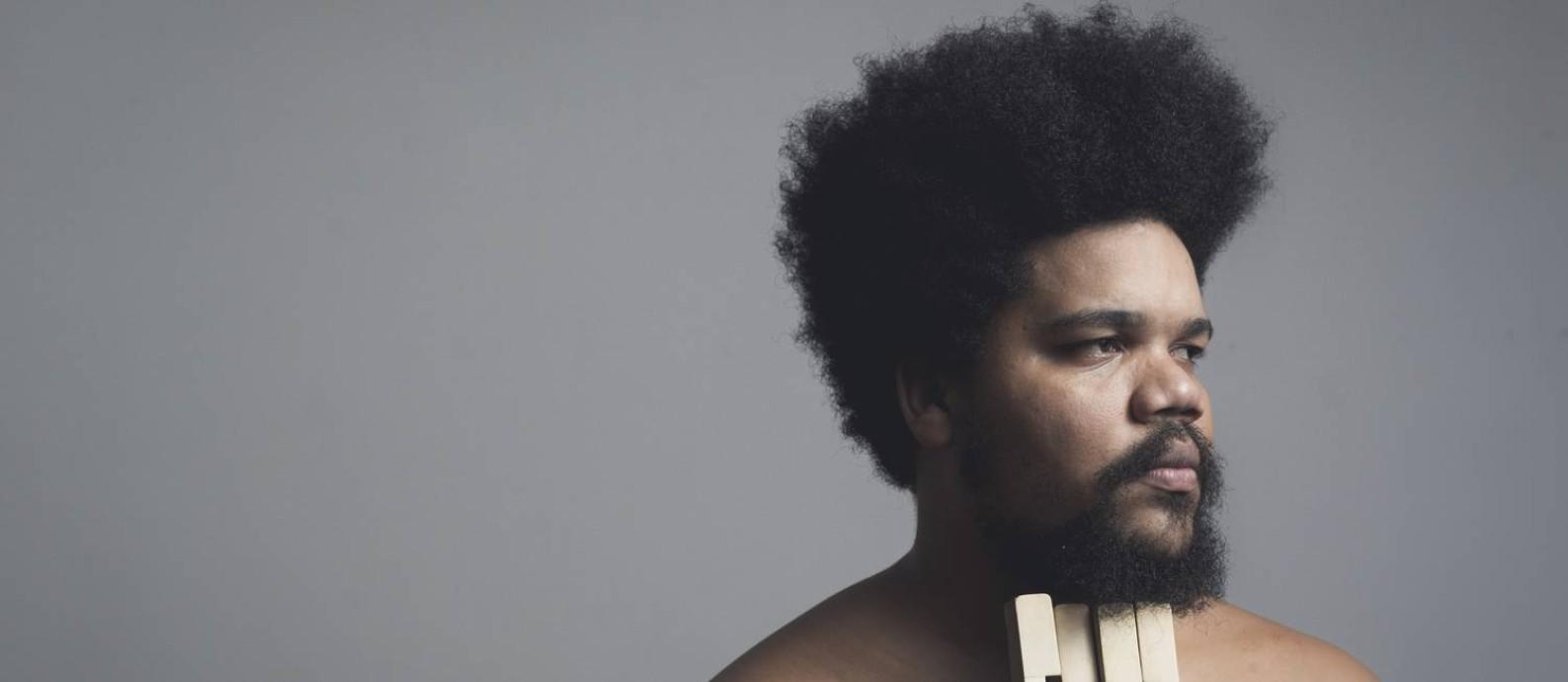 O pianista Amaro Freitas Foto: Jão Vicente / Divulgação