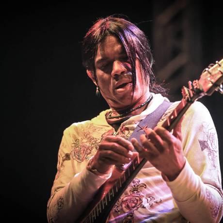 O guitarrista americano Stanley Jordan Foto: Carlos Severo / Divulgação