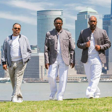 O grupo vocal americano The Manhattans Foto: Bryan Takemoto / Divulgação