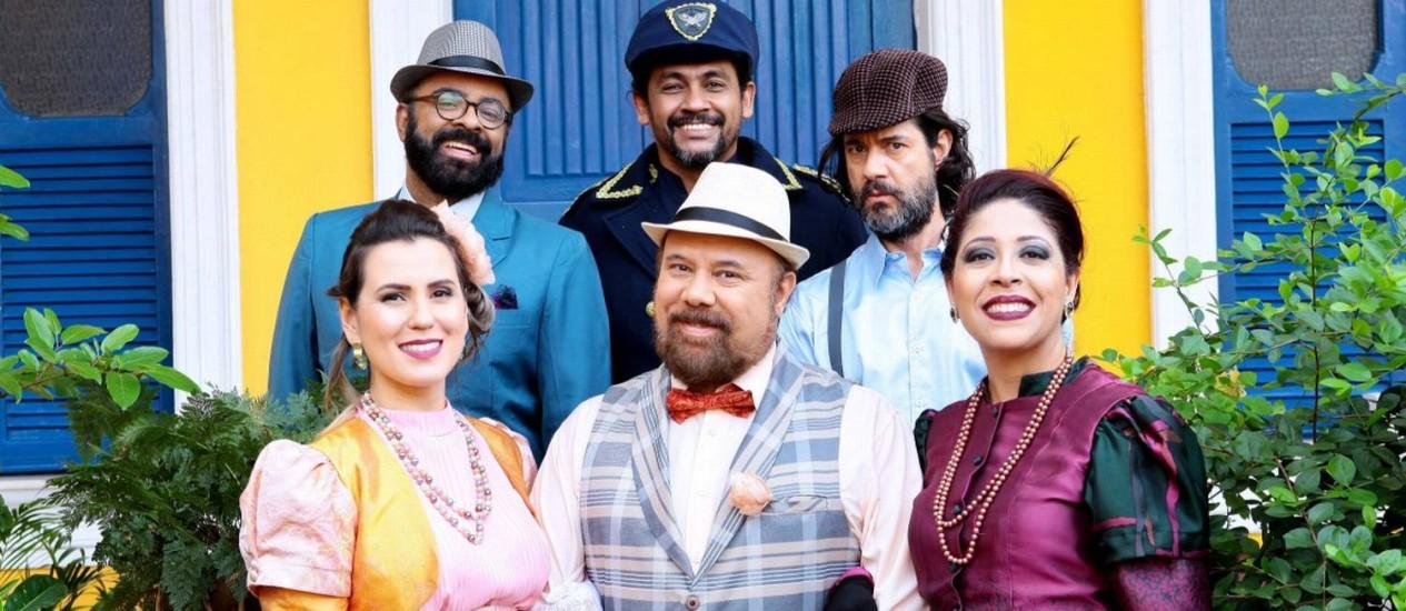 """Ópera nacional """"Caixeiro da taverna"""" Foto: Divulgação/Ariana Rosa / Divulgação/Ariana Rosa"""