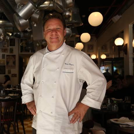 Claude Troisgros é um dos palestrantes do Rio Gastronomia Foto: Pedro Teixeira / Agência O Globo