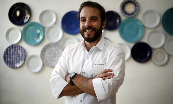 O chef Elia Schramm, do Oia Foto: Marcos de Paula