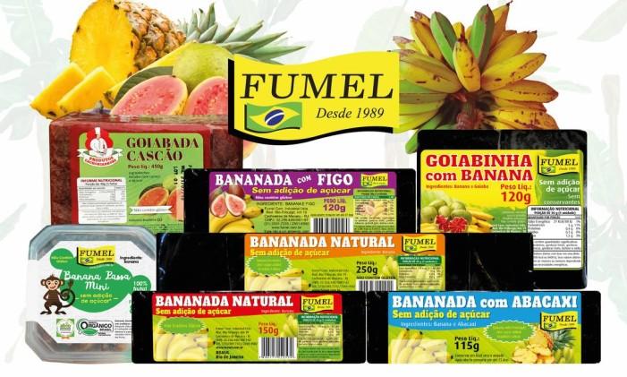 Produtos Fumel: doces sema adição de açúcar Foto: Divulgação