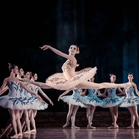 O Ballet de Kiev apresenta programa em homenagem a Ludwig Minkus Foto: Divulgação