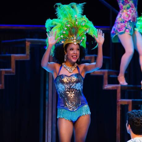 Negra Li em cena de 'MPB — Musical Popular Brasileiro', que já se apresentou em São Paulo Foto: Robson Trindade / Divulgação