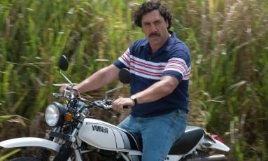Javier Bardem caracterizado como Pablo Escobar Foto: Raul Soto / Divulgação/Raul Soto