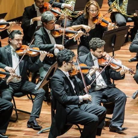 Concerto da Orquestra Sinfônica Brasileira Foto: Cícero Rodrigues / Divulgaçao
