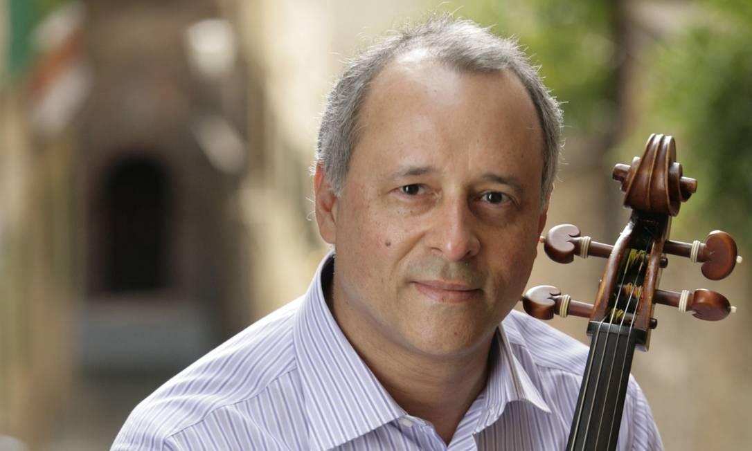 O violoncelista Antonio Meneses Foto: Divulgação