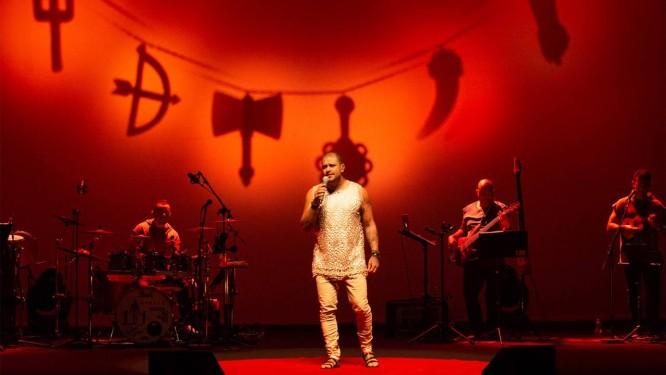 O cantor e compositor Diogo Nogueira Foto: Marcos Hermes / Divulgação