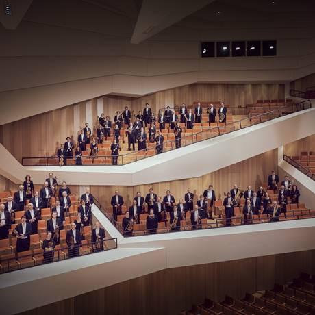 A Orquestra Filarmônica de Dresden Foto: Markenfotografie / Divulgação