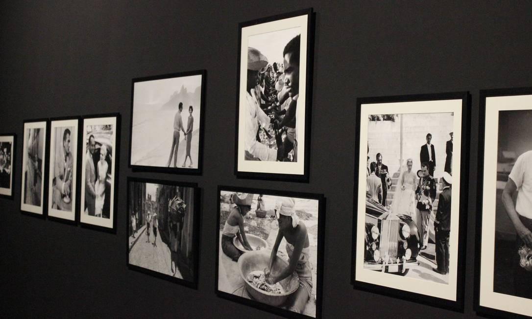 Sala Barretão: o espaço reúne 18 fotos do cineasta Luiz Carlos Barreto relacionadas ao clube, todas do período em que ele trabalhou como jornalista fotográfico Divulgação