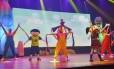 Luna e seus amigos aprontam todas no palco do Miguel Falabella Foto: Divulgação