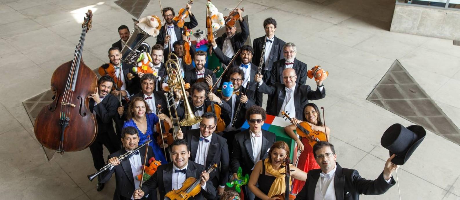 OSB apresenta concerto especial do Dia das Crianças. Foto: Divulgação/Cicero Rodrigues