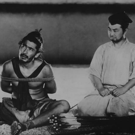 Cena de 'Rashomon', de Akira Kurosawa Foto: Divulgação