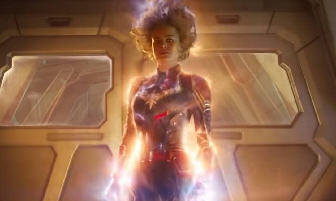 Cena de 'Capitã Marvel' Foto: Reprodução
