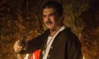 Jackson Antunes em cena do filme 'A mata negra', de Rodrigo Aragão Foto: Divulgação