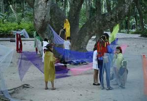 A Descolônia do Parque Lage ensina arte em meio à natureza Foto: Divulgação