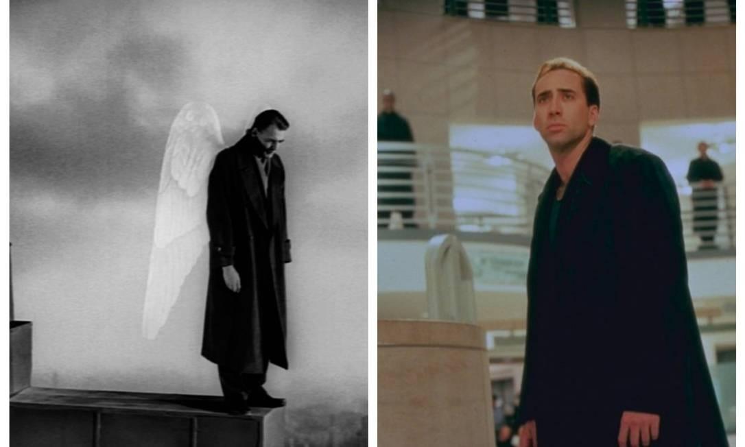 """Clássico de Wim Wenders, """"Asas do desejo"""" (1987) conta, em preto e branco, a história de um anjo que se apaixona por uma mortal. Onze anos depois, estreou a versão de Brad Silberling estrelada por Nicolas Cage e Meg Ryan. Foto: Fotos de divulgação"""