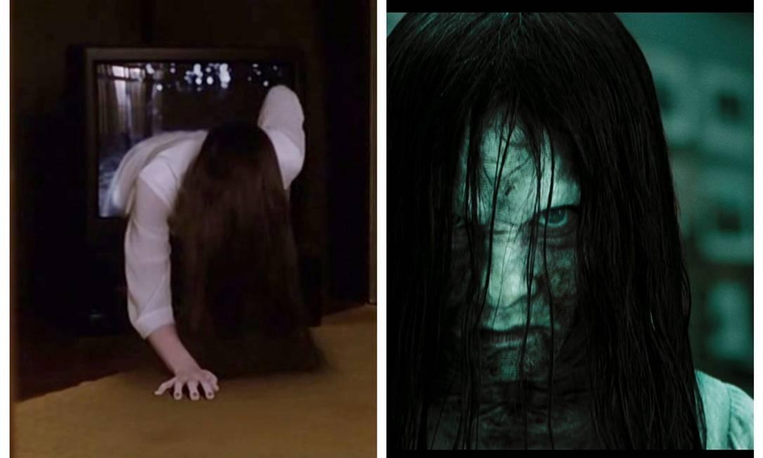 """Filmes de terror asiáticos são uma fonte de inspiração para similares americanos. Um bom exemplo é """"O chamado"""" (1998), de Hideo Nakata. Gore Verbinski dirige o americado, de 2002, com Naomi Watts. Foto: Fotos de divulgação"""