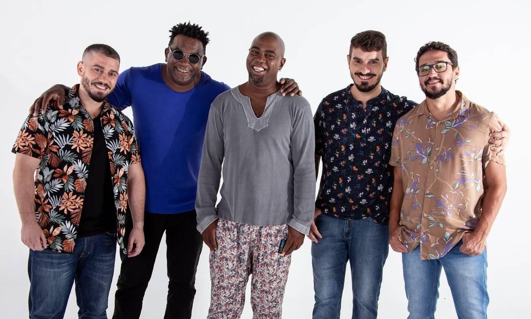O grupo Galocantô Foto: Bruno Henrique / Divulgação
