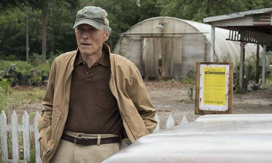 'A mula': Eastwood faz western urbano com lado sombrio Foto: Divulgação