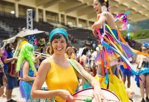 A feira Burburinho organiza um baile de carnaval no Jockey Foto: Divulgação