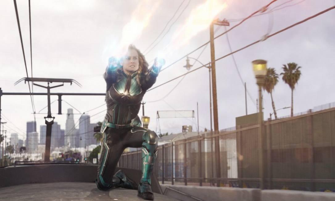 A heroína tem superforça, super-resistência, capacidade de manipular energia, entre outros poderes Foto: Divulgação
