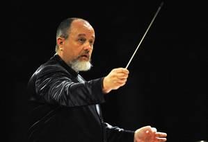 O Maestro Luiz Fernando Malheiro Foto: RUMEN KOYNOV / Divulgação