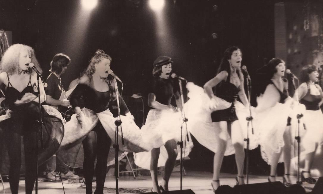 Show das Frenéticas, no final dos anos 1970 Foto: Divulgaçao