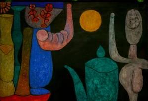 A última obra feita pelo artista foi encontrada ainda no cavalete, em 1940, e ficou sem título Foto: Agência O Globo/Roberto Moreyra