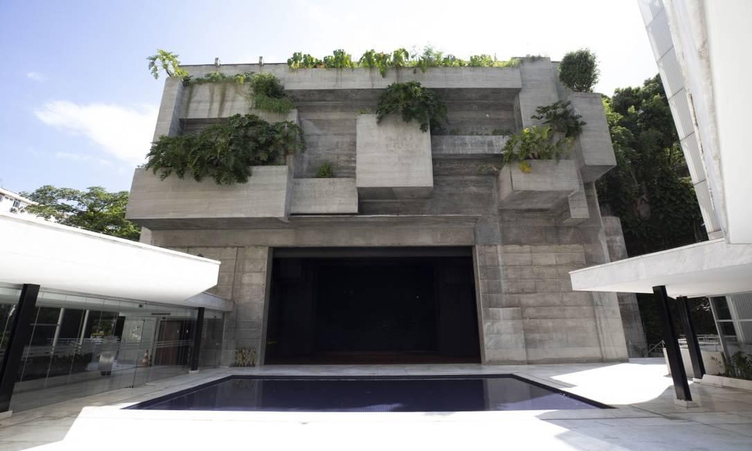 A fachada do Teatro Prudential — Sala Adolpho Bloch, na Glória Foto: Divulgação