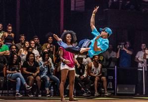 As batalhas de dança do evento Rio H2K de Dança Foto: Bruno Lopes / Divulgação